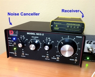 Noise Cancelling by NCC-2 (DX Engineering) | Shortwave